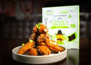Dirty Wild Wings Sticky Korean Meal Kit